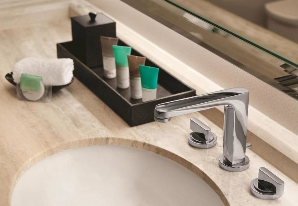 bathroom sink man made object plumbing fixture counter product tap bidet flooring shelf toilet