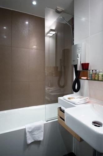 bathroom property sink toilet plumbing fixture bidet