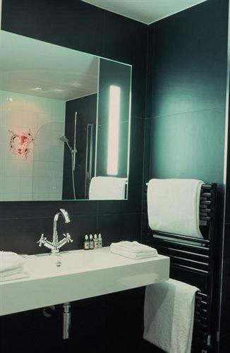 bathroom black sink lighting plumbing fixture