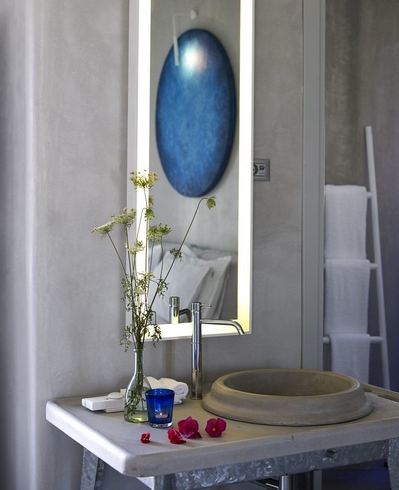 color blue lighting light fixture glass bathroom