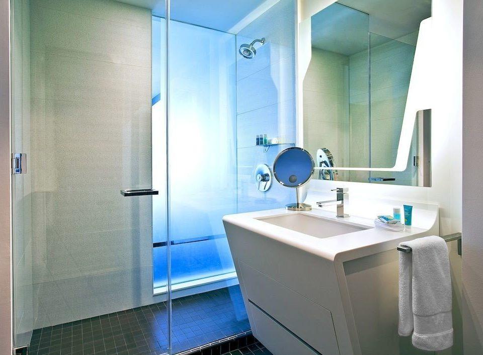 bathroom property blue public toilet tiled