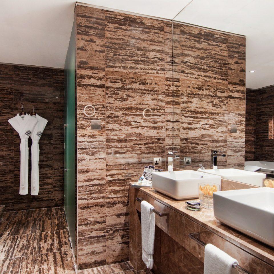 bathroom property house home brick tile flooring cottage stone