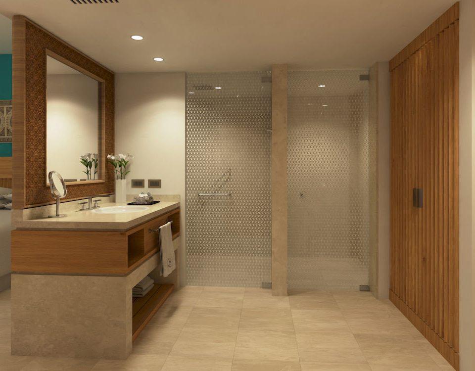 bathroom property building cabinetry hardwood sink flooring plumbing fixture wood flooring tile
