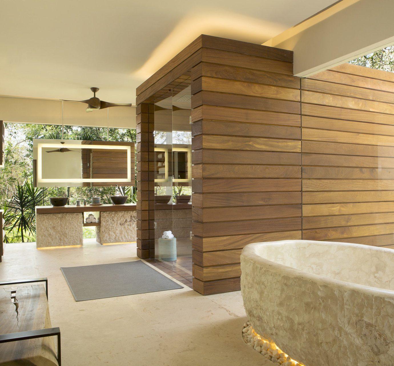 property building home house cottage living room farmhouse porch tub stone bathroom