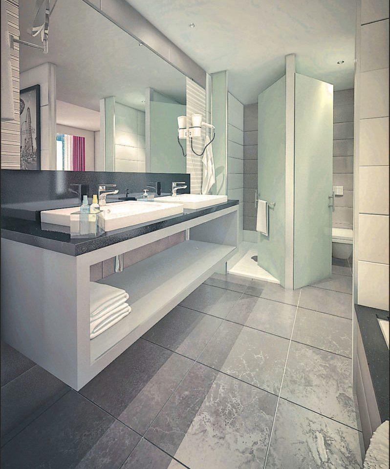 bathroom property building flooring tile home countertop tiled