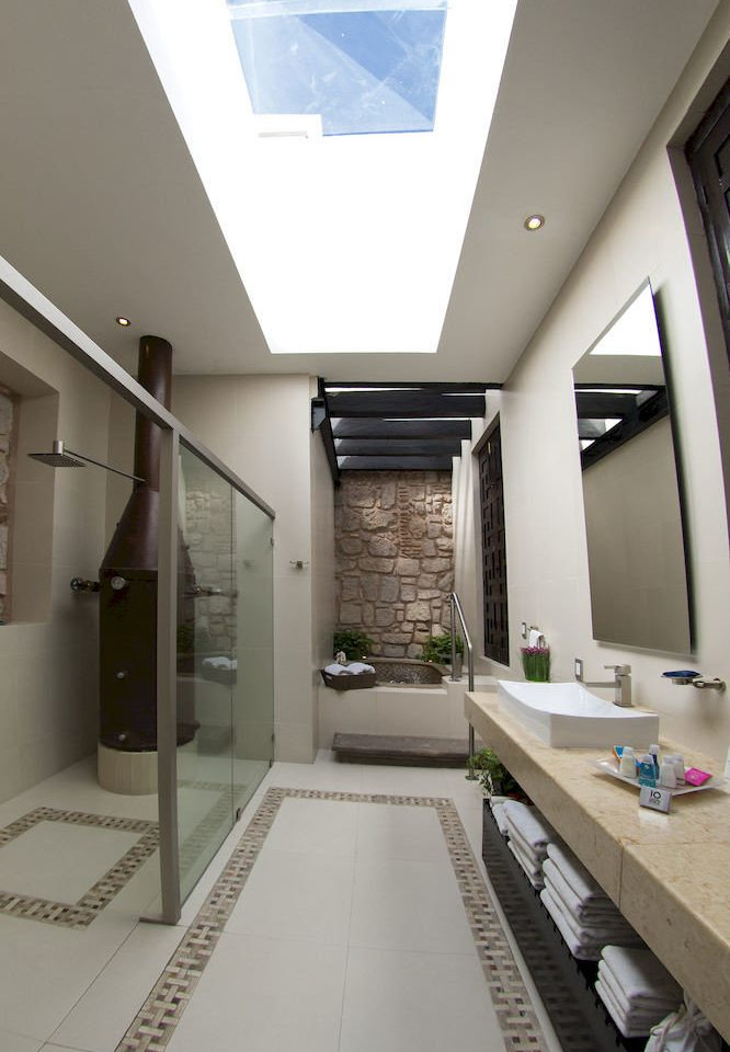 bathroom building property daylighting hall flooring office