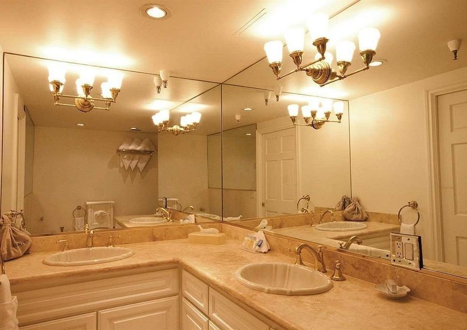 property bathroom sink home lighting cabinetry cottage counter