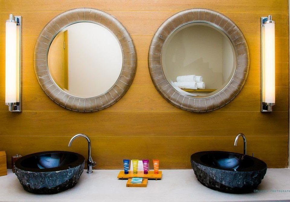 man made object bathroom product ceramic lighting circle shape sink plumbing fixture flooring