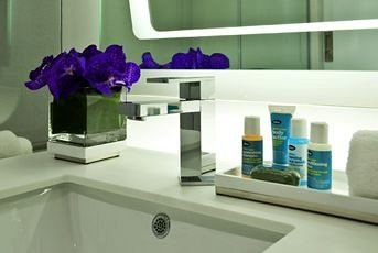 bathroom product sink counter shelf colored