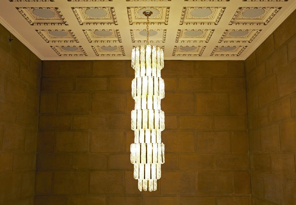 light column lighting daylighting light fixture tiled bathroom