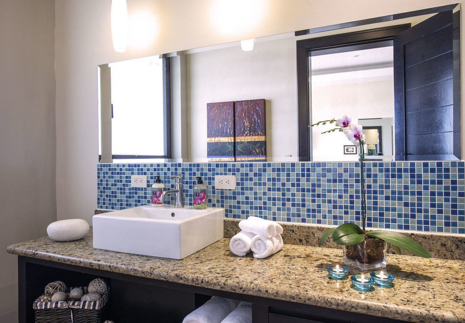 property sink home bathroom counter living room condominium cottage