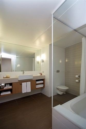 bathroom property sink home lighting daylighting flooring condominium