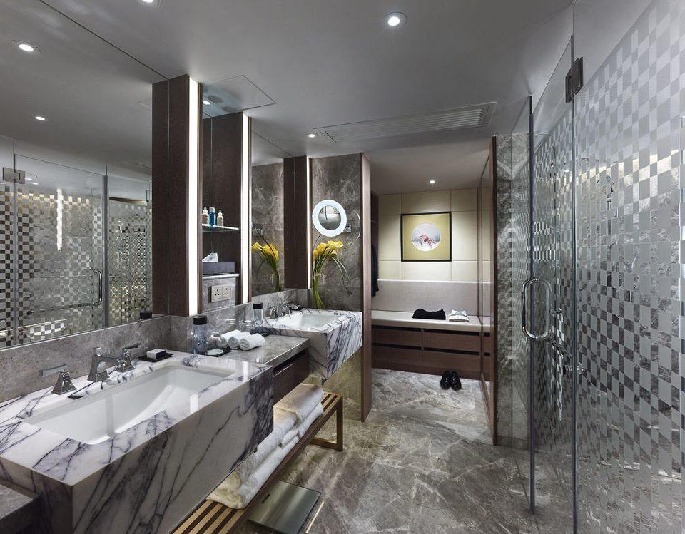 bathroom property sink home condominium flooring loft