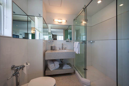 bathroom property condominium sink home toilet loft