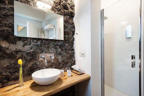 bathroom mirror sink property home house cottage plumbing fixture flooring countertop counter