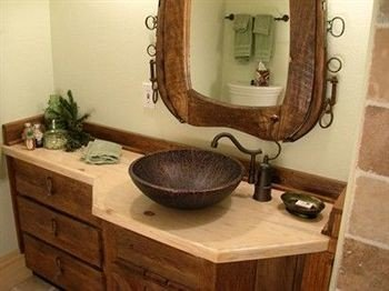 bathroom property sink plumbing fixture countertop hardwood cottage flooring