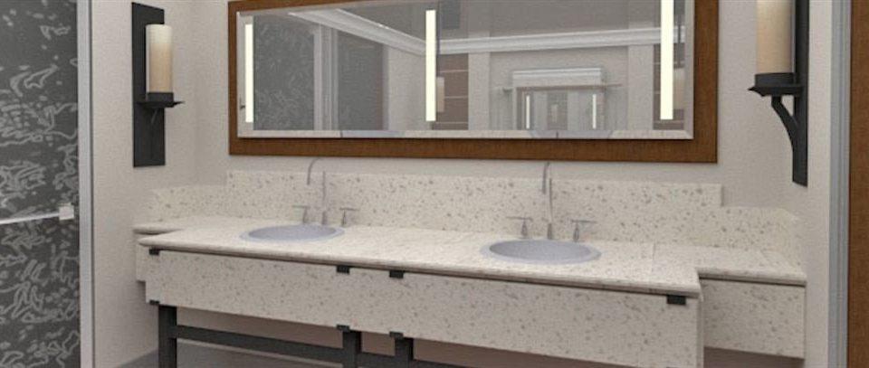 bathroom property sink home cottage plumbing fixture flooring tile tub