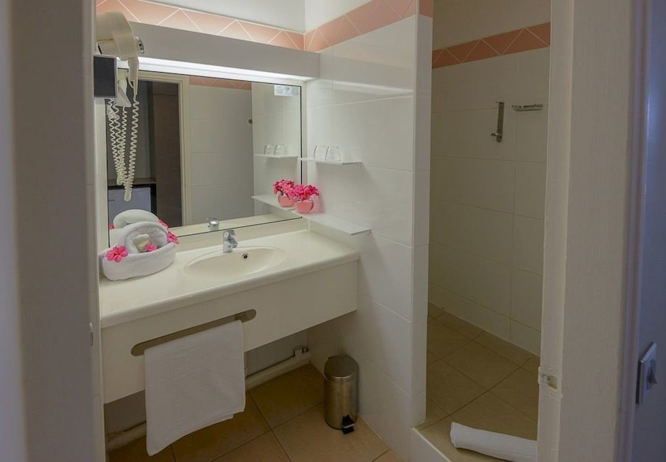 bathroom sink mirror property toilet home white cottage