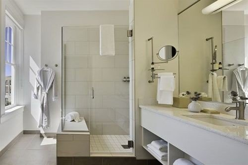 bathroom mirror sink property home toilet cottage