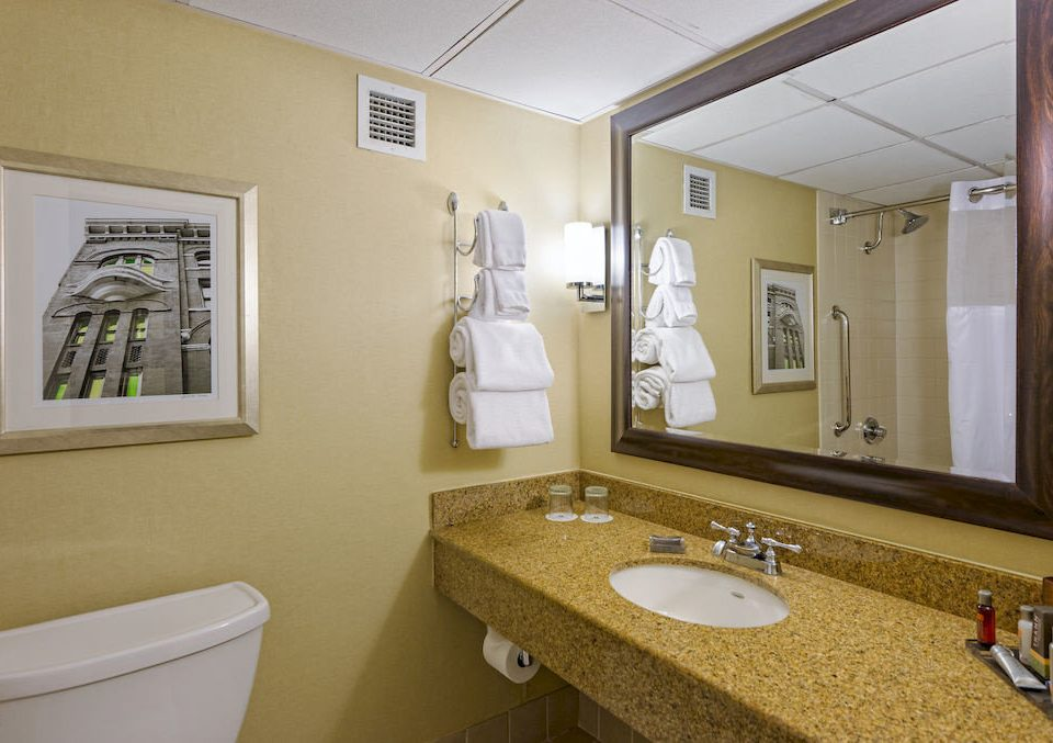 bathroom sink mirror property home cottage