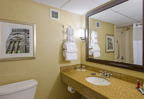 bathroom sink mirror property home cottage