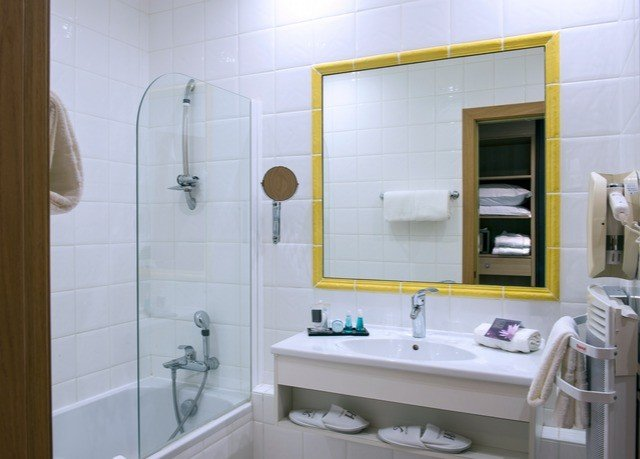 bathroom sink property toilet white home plumbing fixture cottage