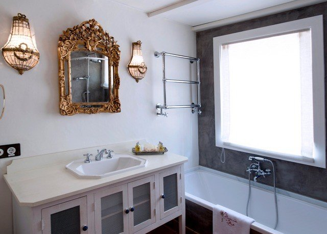 property bathroom white home sink cottage