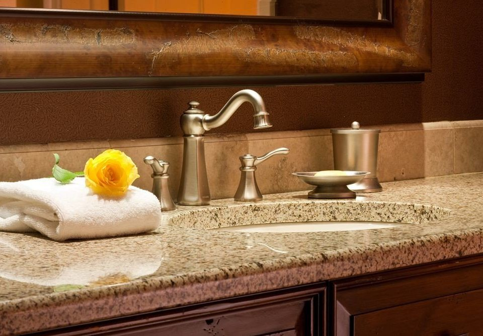 countertop counter bathroom hardwood sink material flooring granite