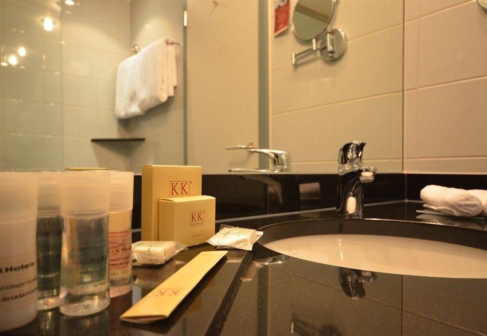 bathroom sink home lighting counter toilet