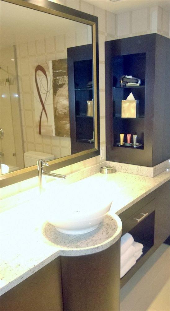 bathroom mirror property sink plumbing fixture home counter