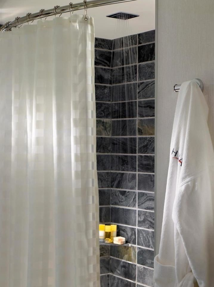 bathroom curtain plumbing fixture shower textile window treatment material veil tiled