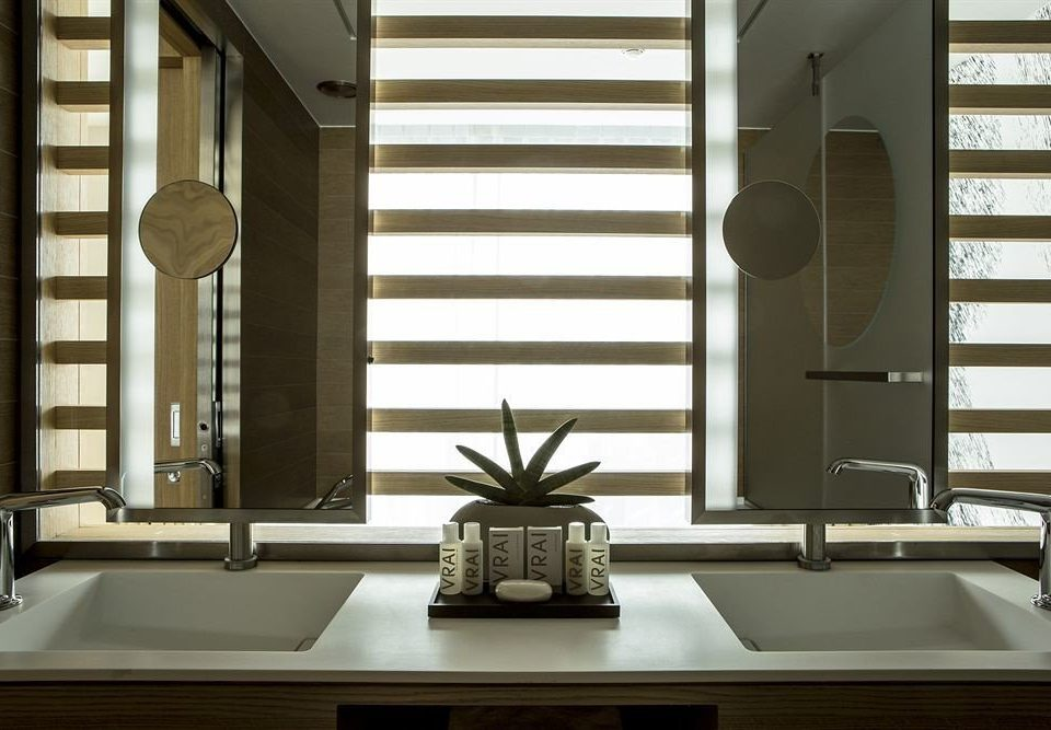bathroom mirror sink living room home lighting daylighting window treatment