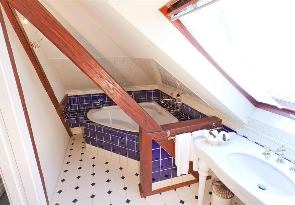 property swimming pool daylighting stairs tiled bathroom