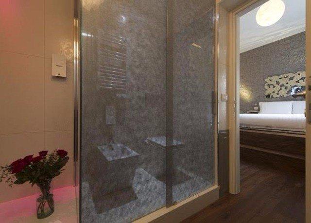 property glass flooring tile bathroom door