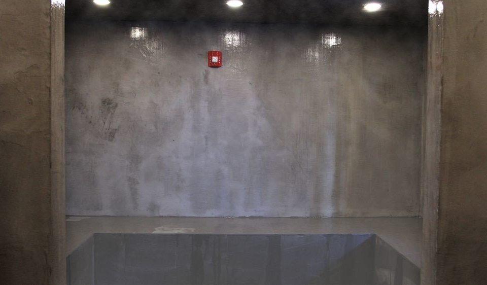 house plumbing fixture glass flooring plaster material door bathroom