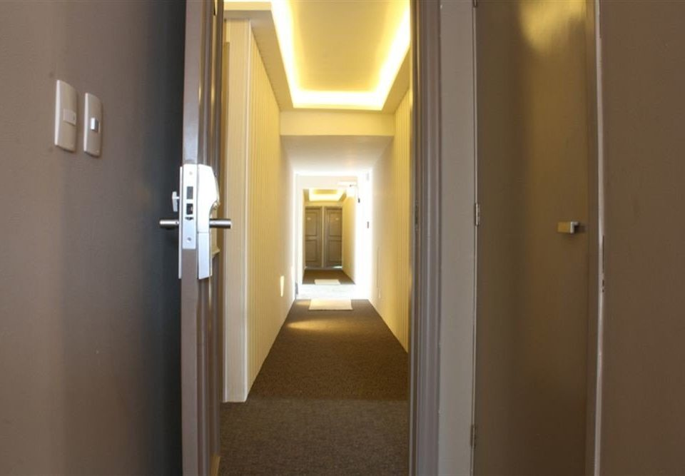 house hall home lighting door bathroom flooring