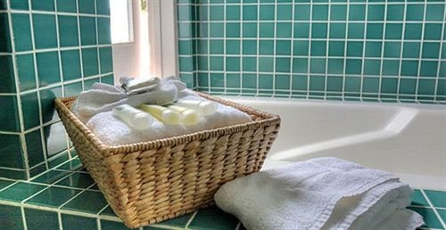 green product wicker laundry bathroom flooring net tiled