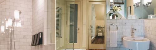 bathroom toilet home flooring plumbing fixture tiled