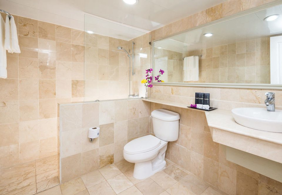 bathroom property sink home flooring toilet tan