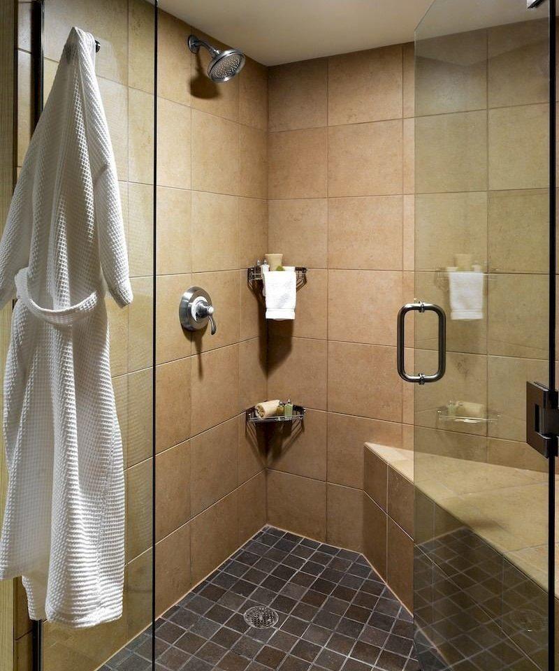 bathroom plumbing fixture flooring tile shower toilet tiled