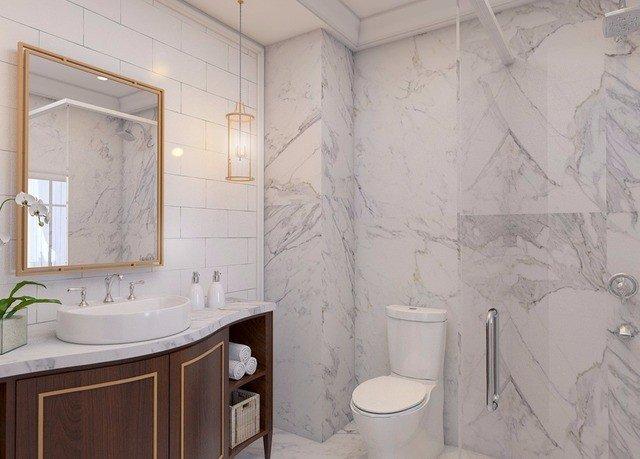bathroom toilet sink flooring tile plumbing fixture