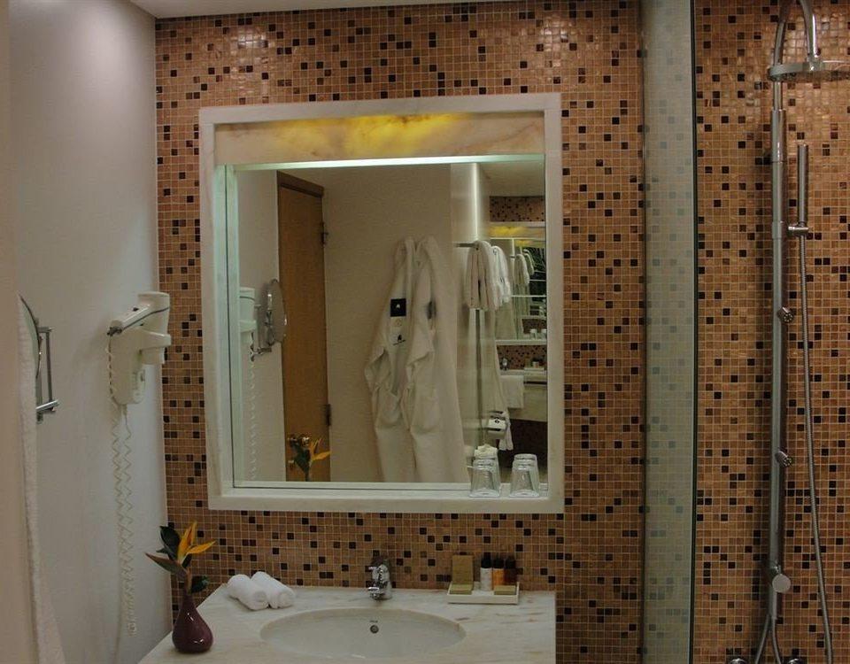 bathroom sink flooring plumbing fixture
