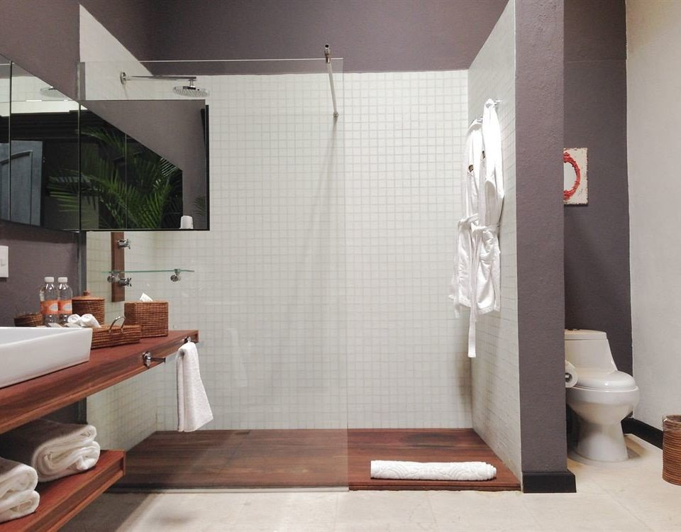 bathroom sink plumbing fixture flooring tile