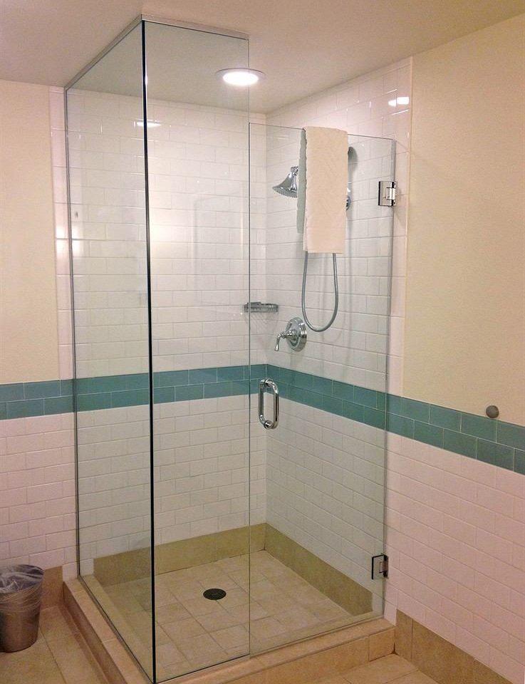 bathroom property scene plumbing fixture green shower tiled