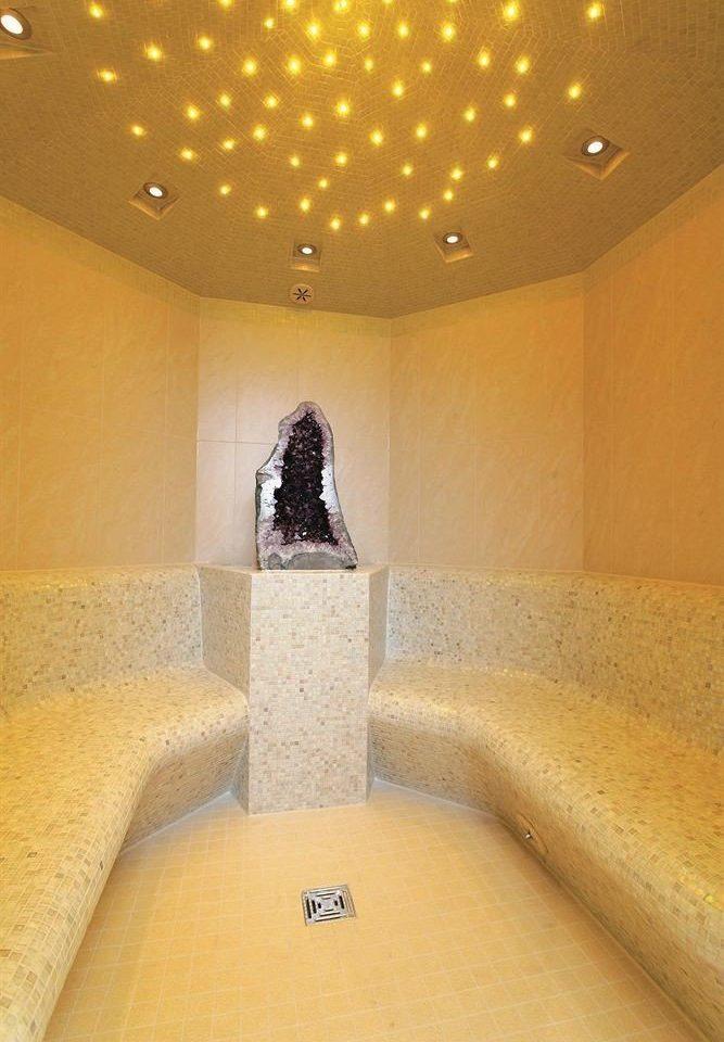 swimming pool yellow lighting bathroom plumbing fixture hall