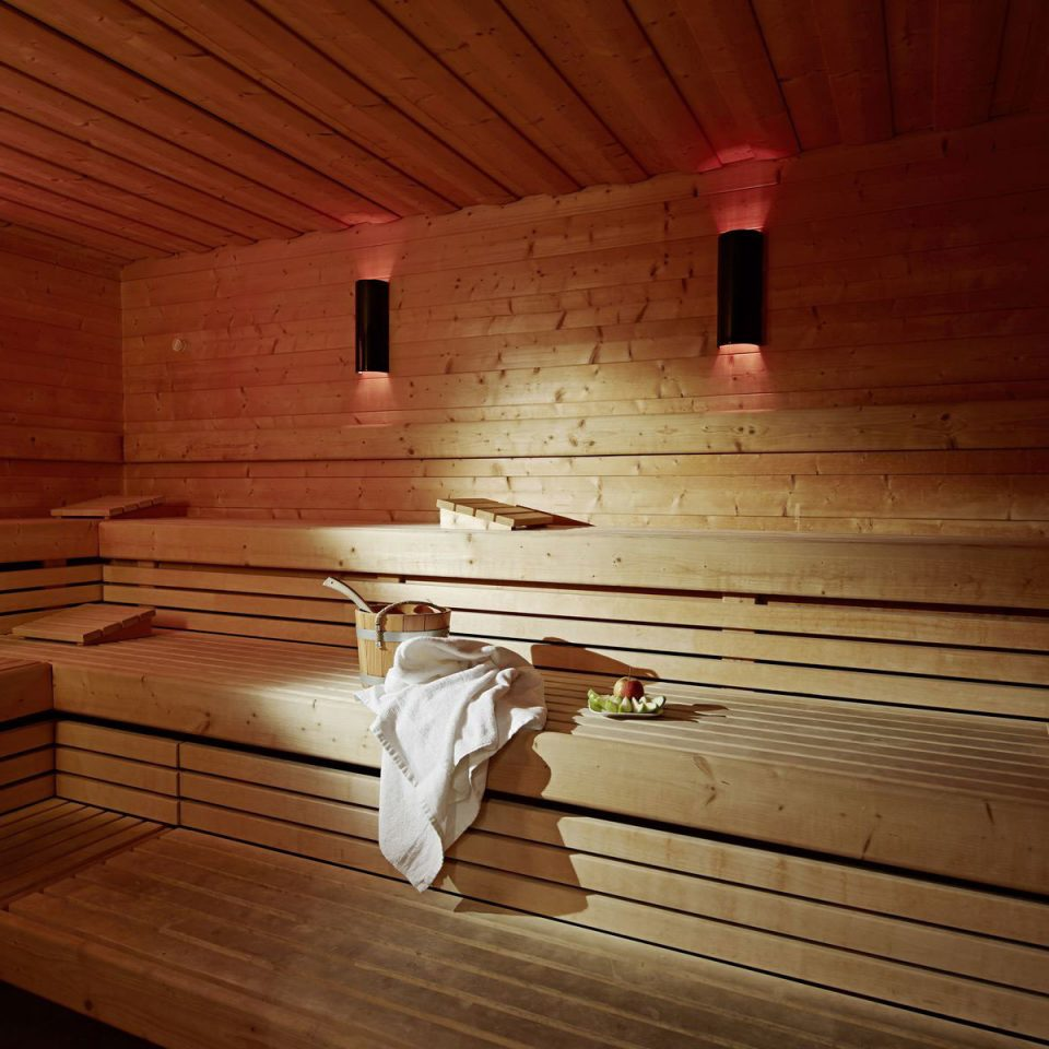 hardwood sauna wood flooring bathroom