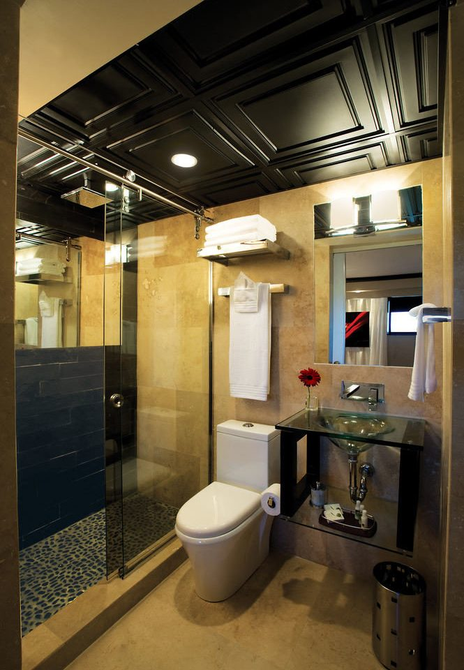 bathroom property house home lighting sink toilet public