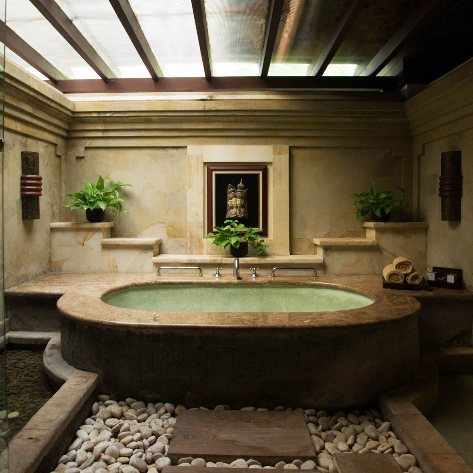 bathroom house swimming pool mansion home sink tub stone