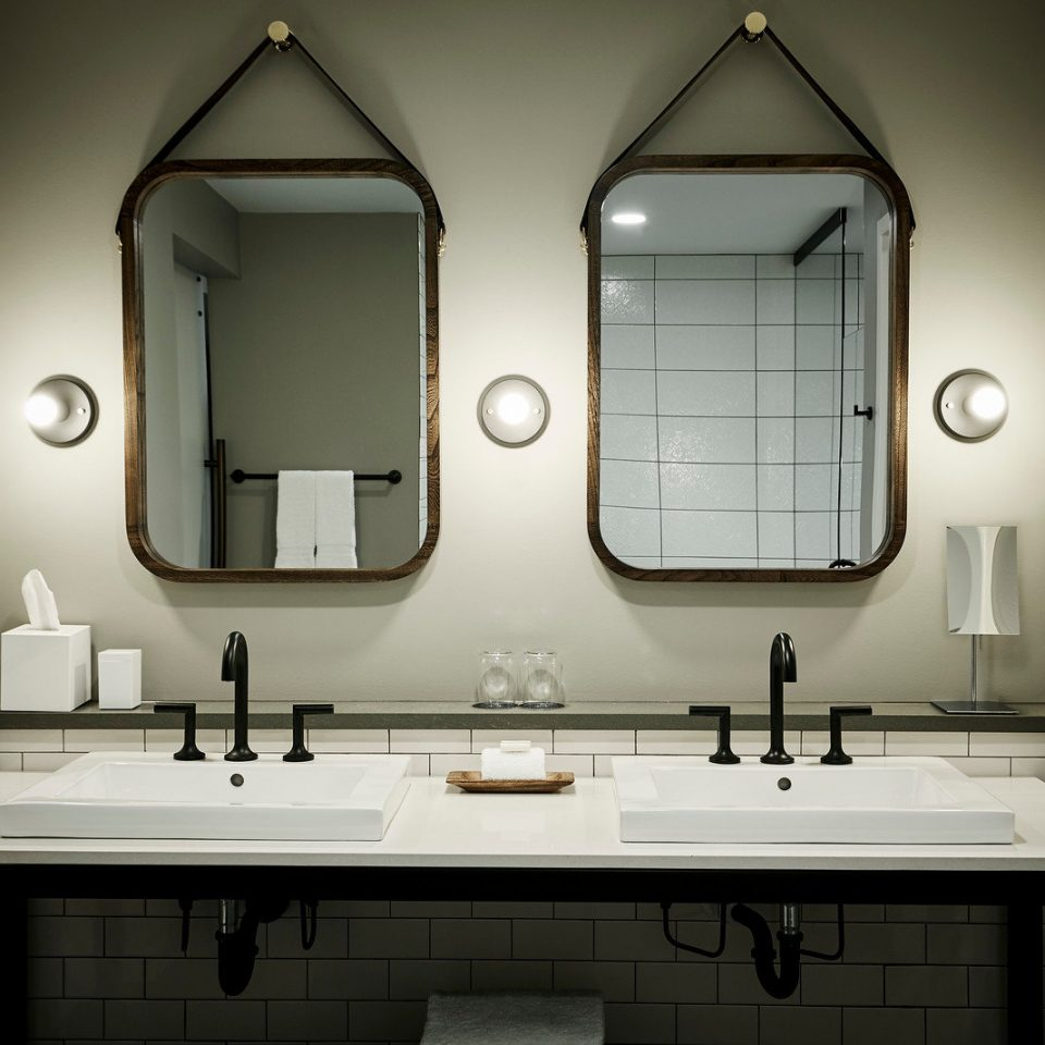 bathroom sink mirror home lighting plumbing fixture toilet