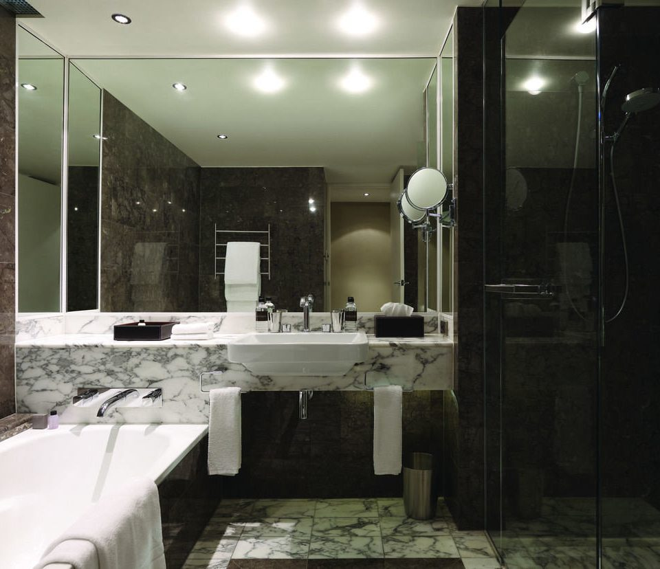 bathroom property sink toilet lighting home